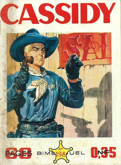 Cover for Cassidy (Impéria, 1957 series) #198