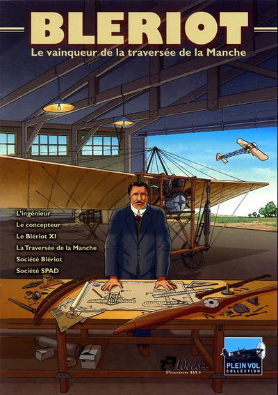 Cover for Blériot - Le vainqueur de la traversée de la Manche (Idées+, 2009 series)
