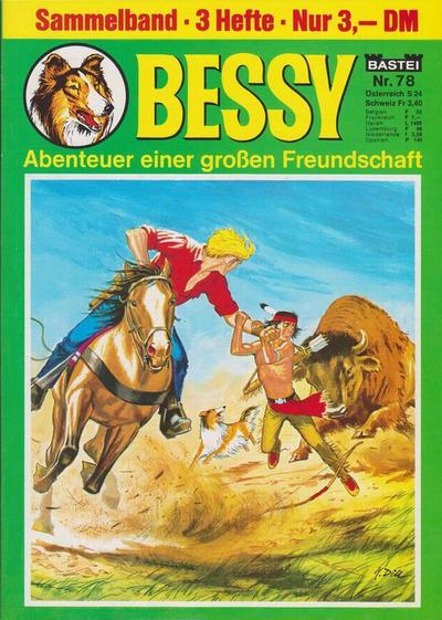 Cover for Bessy Sammelband (Bastei Verlag, 1966 ? series) #78