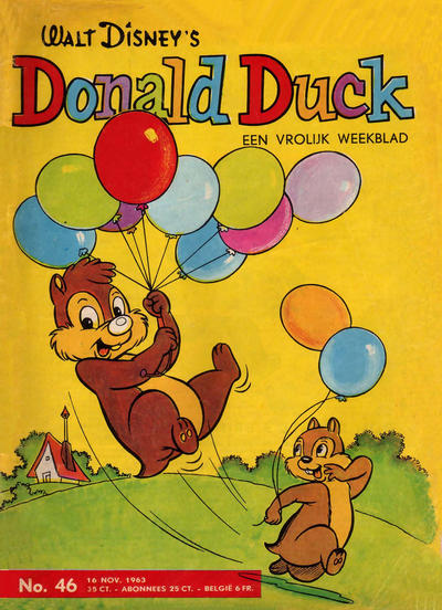Cover for Donald Duck (Geïllustreerde Pers, 1952 series) #46/1963