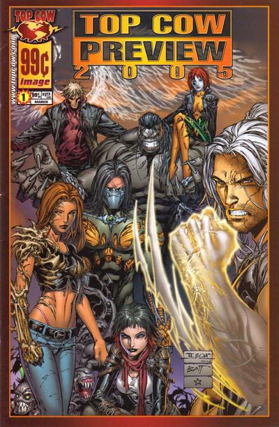 Cover for Top Cow Preview Book 2005 (Image, 2005 series) #1
