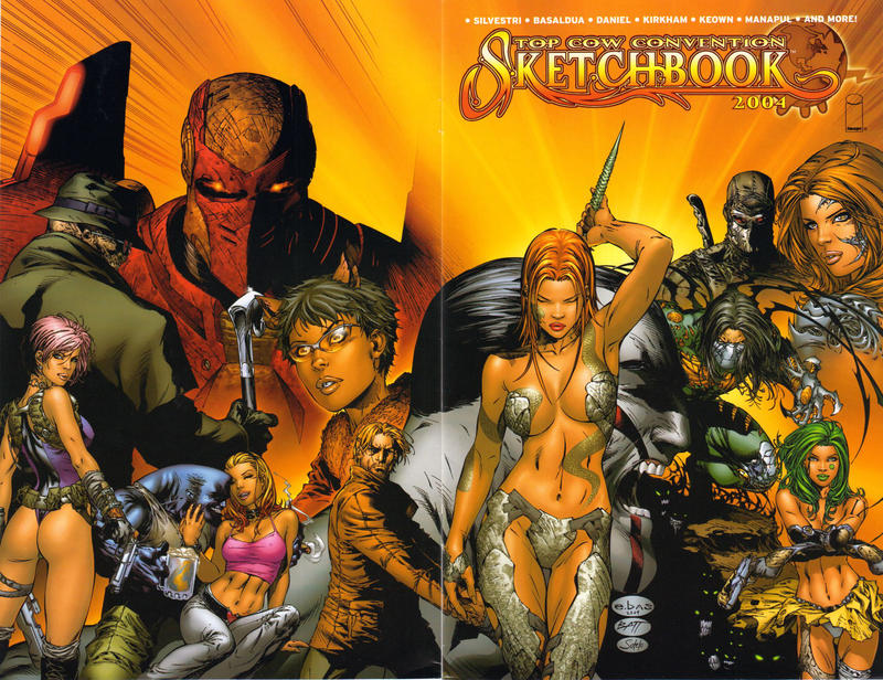 Cover for The Top Cow Convention Sketchbook 2004 (Image, 2004 series) #1