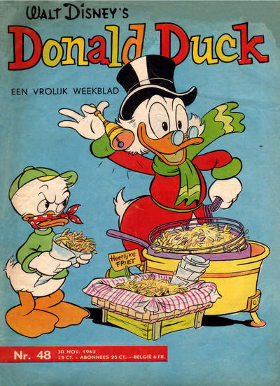 Cover for Donald Duck (Geïllustreerde Pers, 1952 series) #48/1963