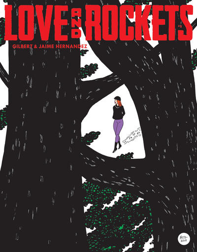 Cover for Love and Rockets (Fantagraphics, 2016 series) #8