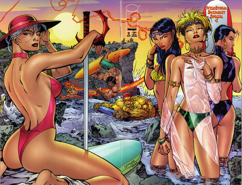 Cover for Wildstorm Swimsuit Special (Image, 1994 series) #2