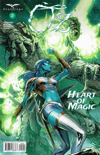Cover for Oz: Heart of Magic (Zenescope Entertainment, 2019 series) #2 [SDCC Cosplay Exclusive - David Nakayama]