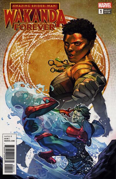 Cover for Amazing Spider-Man: Wakanda Forever (Marvel, 2018 series) #1