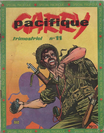 Cover for Garry Pacifique (Impéria, 1953 series) #11
