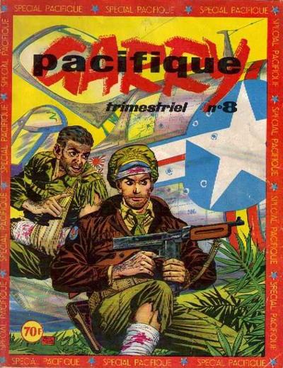 Cover for Garry Pacifique (Impéria, 1953 series) #8