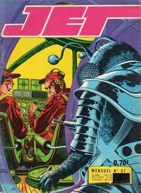Cover Thumbnail for Jet (Impéria, 1971 series) #51