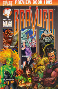 Cover Thumbnail for Bravura Preview Book (Malibu, 1993 series) #2 (1)