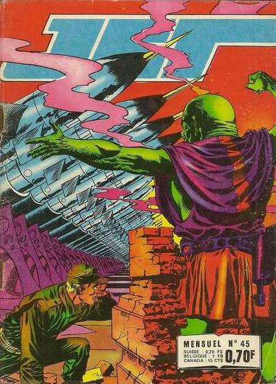 Cover for Jet (Impéria, 1971 series) #45