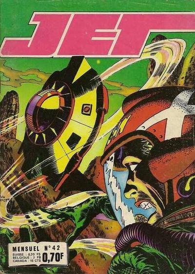 Cover for Jet (Impéria, 1971 series) #42