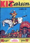Cover for Kit Carson (Impéria, 1956 series) #73