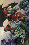 Cover Thumbnail for Batman (2016 series) #50 [4ColorBeast.com Joe Madureira Connecting Cover - Joker, Harley Quinn and Poison Ivy]