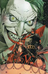 "Cover Thumbnail for Batman (2016 series) #50 [Comic Sketch Art SDCC Exclusive Clay Mann ""Bloody Joker"" Virgin Cover]"