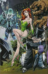 Cover Thumbnail for Batman (2016 series) #50 [JScottCampbell.com Exclusive Connecting Variant Cover - Penguin, Poison Ivy, Mister Freeze, and Clayface]