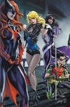 Cover Thumbnail for Batman (2016 series) #50 [JScottCampbell.com Exclusive Connecting Variant Cover - Black Canary, Huntress, Batwoman, and Red Robin]