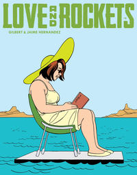 Cover for Love and Rockets (Fantagraphics, 2016 series) #8 [Regular Edition]