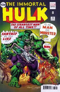 Cover Thumbnail for Immortal Hulk (Marvel, 2018 series) #33 [Joe Bennett Variant]