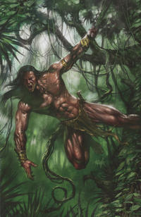 """Cover Thumbnail for Lord of the Jungle (Dynamite Entertainment, 2012 series) #6 [""""Virgin Art"""" Retailer Incentive Cover]"""