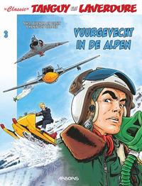 """Cover Thumbnail for """"Classic"""" Tanguy en Laverdure (Arboris, 2017 series) #3 - Vuurgevecht in de Alpen"""