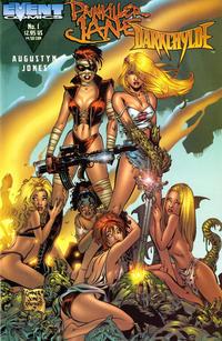 Cover Thumbnail for Painkiller Jane / Darkchylde (Event Comics, 1998 series) #1 [Cover 3 - Amanda Conner / J.G. Jones / Jimmy Palmiotti]