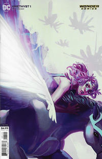Cover Thumbnail for Amethyst (DC, 2020 series) #1 [Stephanie Hans Cardstock Cover]