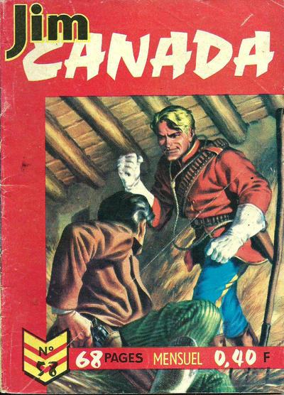 Cover for Jim Canada (Impéria, 1958 series) #58