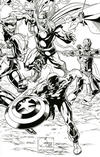 Cover Thumbnail for Marvel Comics (2019 series) #1000 [Wraparound Sketch Variant Cover]