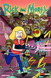 Cover for Rick and Morty (Oni Press, 2015 series) #2 [50 Issues Special Connecting Cover - Marc Ellerby]
