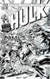 Cover Thumbnail for Immortal Hulk (2018 series) #33 [Joe Bennett Black and White Homage]