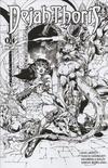 Cover Thumbnail for Dejah Thoris (2019 series) #4 [Bonus FOC Cover Roberto Castro Black and White]