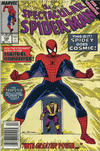 Cover Thumbnail for The Spectacular Spider-Man (1976 series) #158 [Newsstand]