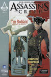 Cover for Assassin's Creed (Titan, 2015 series) #1 [Larry's Comics Exclusive Angel Henandez Action Figure Variant]