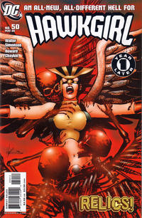 Cover Thumbnail for Hawkgirl (DC, 2006 series) #50 [Second Printing]