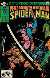 Cover Thumbnail for The Spectacular Spider-Man (Marvel, 1976 series) #54 [Direct]