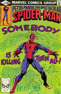 Cover Thumbnail for The Spectacular Spider-Man (Marvel, 1976 series) #44 [Direct]