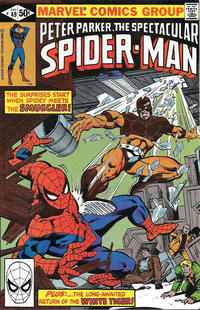 Cover Thumbnail for The Spectacular Spider-Man (Marvel, 1976 series) #49 [Direct]