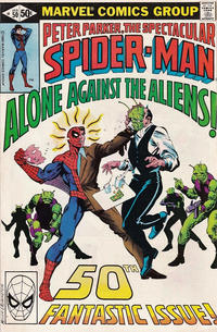 Cover Thumbnail for The Spectacular Spider-Man (Marvel, 1976 series) #50 [Direct]