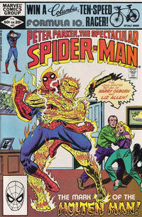 Cover Thumbnail for The Spectacular Spider-Man (Marvel, 1976 series) #63 [Direct]
