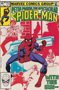 Cover Thumbnail for The Spectacular Spider-Man (Marvel, 1976 series) #71 [Direct]