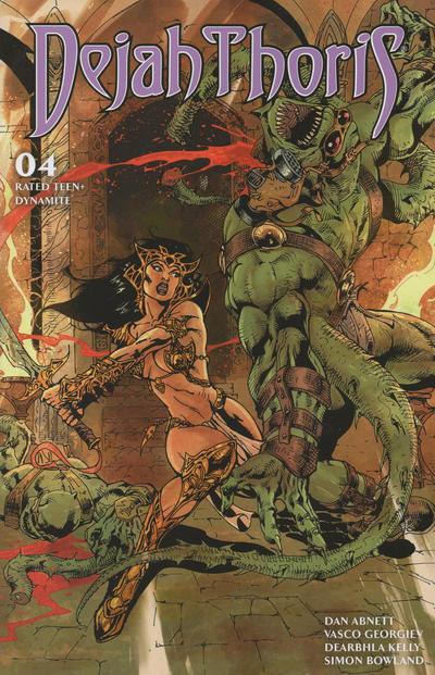 Cover for Dejah Thoris (Dynamite Entertainment, 2019 series) #4 [Cover A Lucio Parrillo]