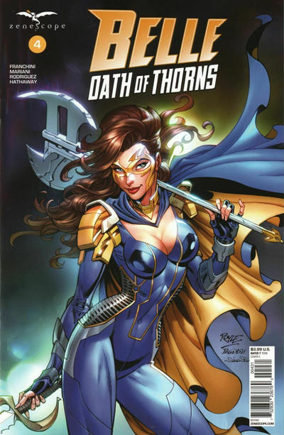 Cover for Belle: Oath of Thorns (Zenescope Entertainment, 2019 series) #4 [Cosplay Exclusive - Paul Green]
