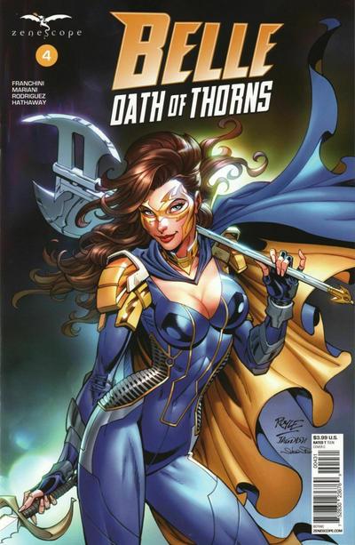 Cover for Belle: Oath of Thorns (Zenescope Entertainment, 2019 series) #4 [Cover D - Igor Vitorino]