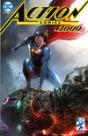 Cover Thumbnail for Action Comics (2011 series) #1000 [Frankie's Comics Francesco Mattina Cover]