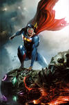 Cover Thumbnail for Action Comics (2011 series) #1000 [Frankie's Comics Francesco Mattina Virgin Cover]