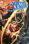Cover for Justice League (DC, 2018 series) #1 [Unknown Comics Tyler Kirkham Cover]