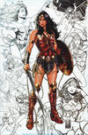 Cover for Justice League (DC, 2018 series) #1 [Comic Sketch Art Mark Brooks Sketch Background Virign Cover]