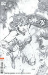 Cover for Justice League (DC, 2018 series) #4 [Jim Lee Pencils Only Variant Cover]